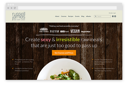 The RawChef uses Memberium