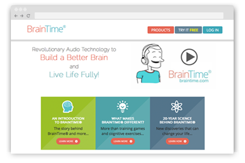 BrainTime uses Memberium