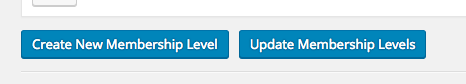 Create / Update Membership Level