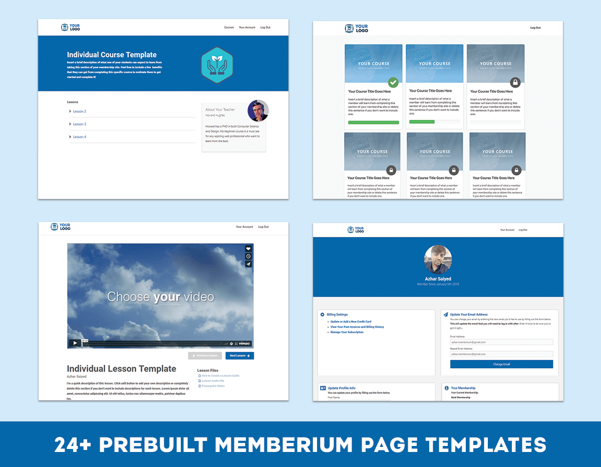 24 Membership Site Page Examples Wordpress Elementor Templates