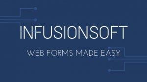 infusionsoft web form