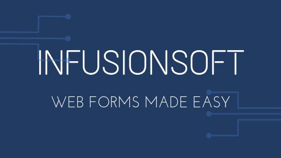 infusionsoft web form