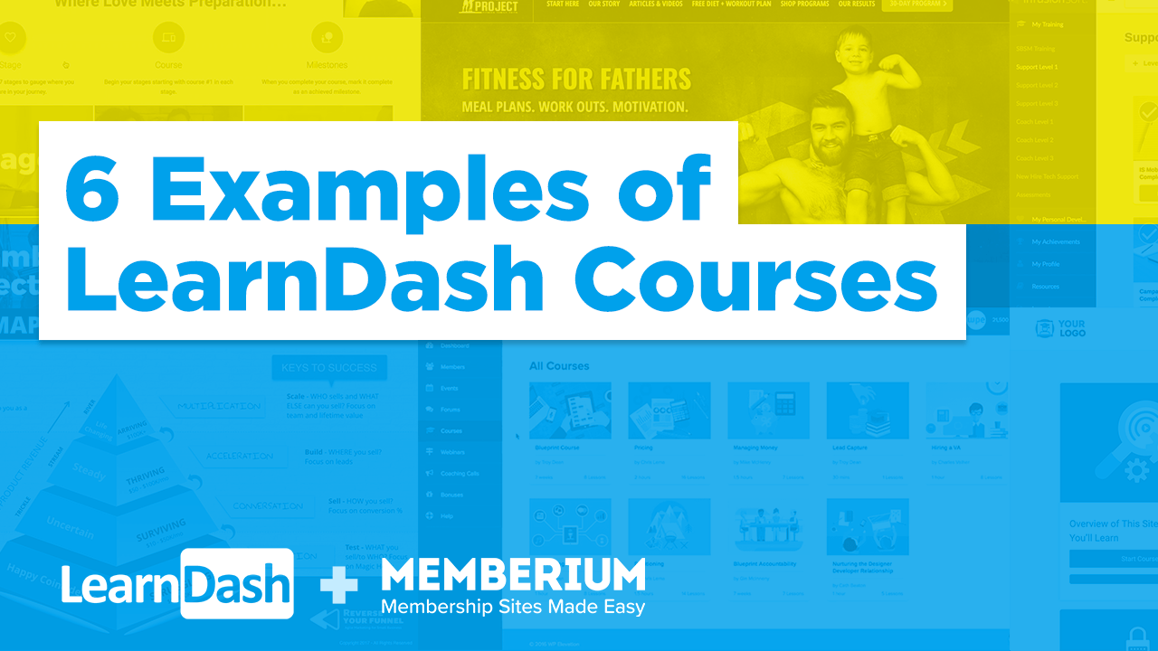 6 Examples of LearnDash Courses