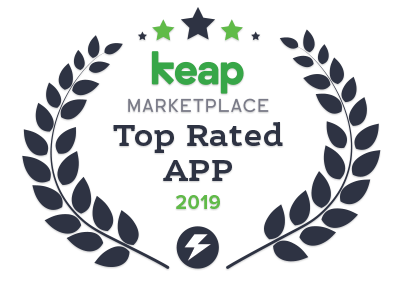 infusionsoft by keap top rated app app 2019