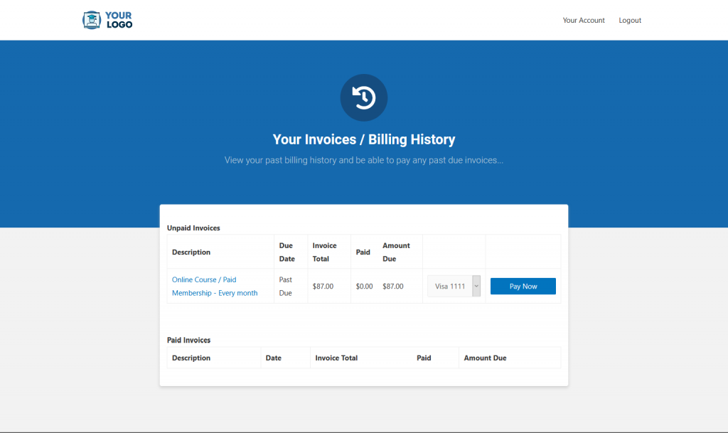 IS Elmnt Your Invoices