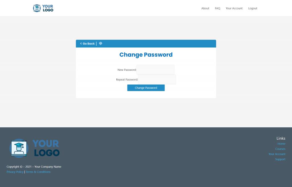 MCC IS Change Password