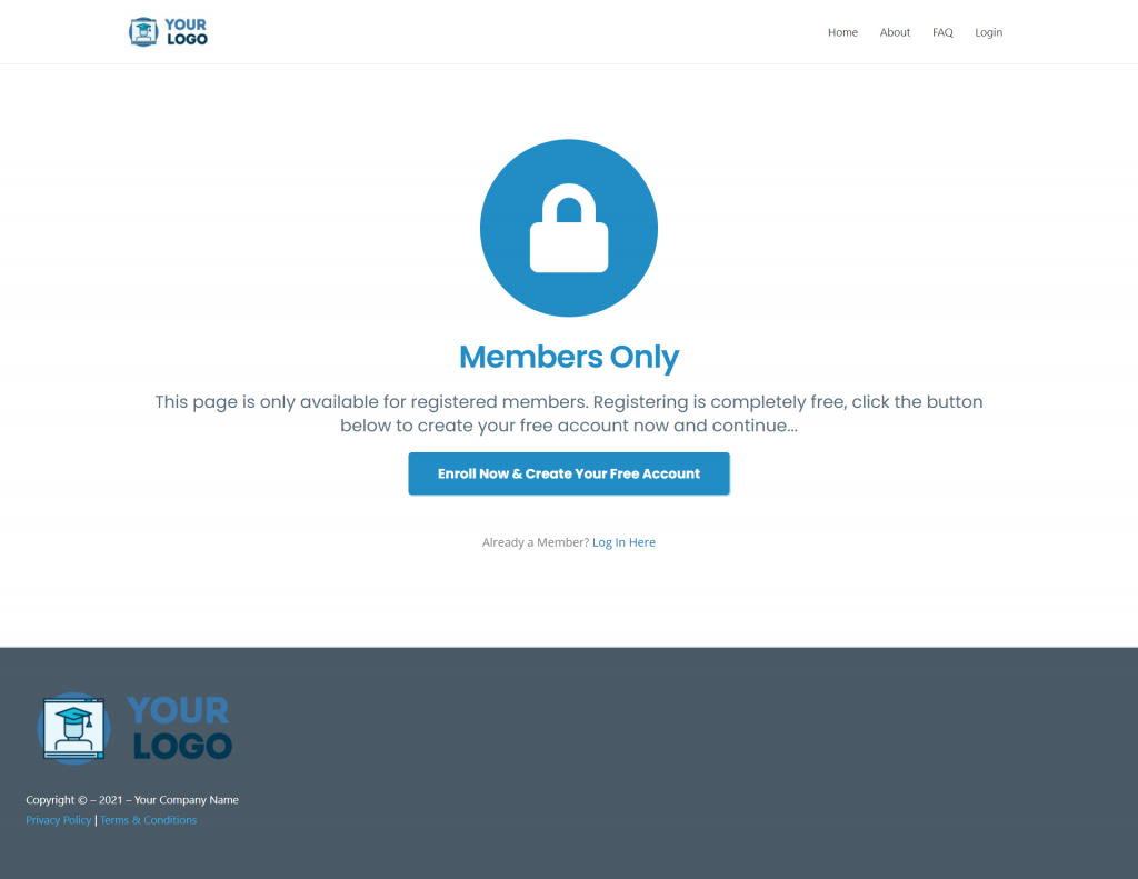 MCC IS Memb Only Free Register