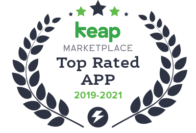 infusionsoft by keap top rated app from 2019-2021