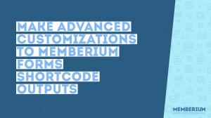Memberium shortcode